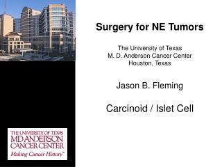 GI Neuroendocrine Tumors