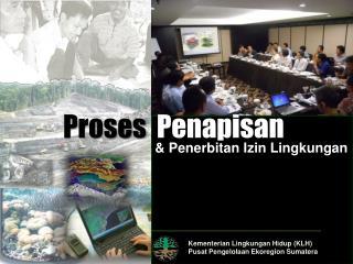 Kementerian Lingkungan  Hidup (KLH) Pusat Pengelolaan Ekoregion  Sumatera