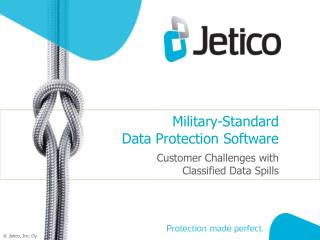 Military-Standard  Data Protection Software