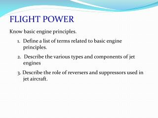 FLIGHT POWER