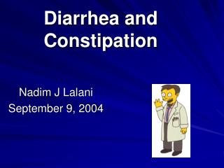 Diarrhea and Constipation