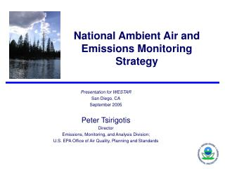 National Ambient Air and Emissions Monitoring Strategy