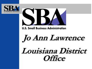 Jo Ann Lawrence Louisiana District Office
