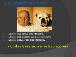 LOS CONECTORES DEL DISCURSO