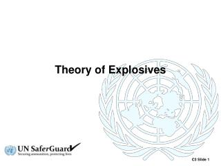 Theory of Explosives
