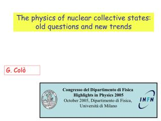 The physics of nuclear collective states: old questions and new trends