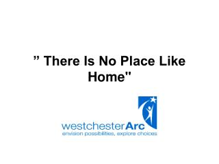 """ There Is No Place Like Home"""