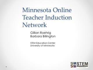 Minnesota Online Teacher Induction Network