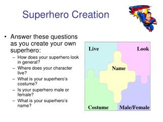 Superhero Creation