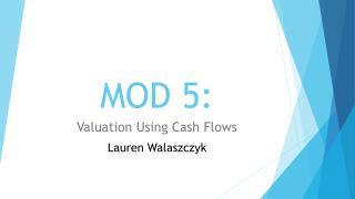 MOD 5: