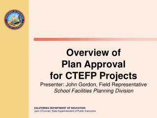 CDE Plan Review Requirements