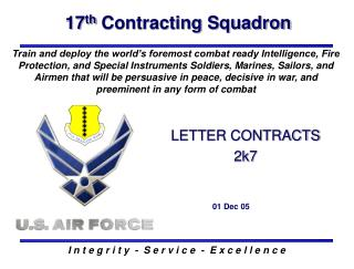 17 th  Contracting Squadron
