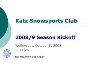 Katz Snowsports Club