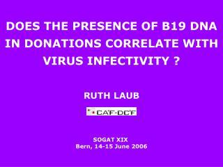 RUTH LAUB SOGAT XIX  Bern, 14-15 June 2006