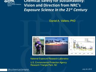 Office of Research and Development National Exposure Research Laboratory