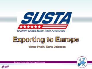Exporting to  Europe