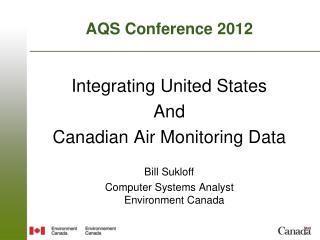 AQS Conference 2012