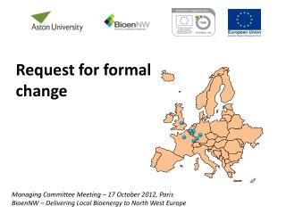 Managing Committee Meeting –  17 October  2012,  Paris