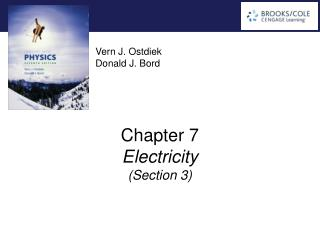 Chapter 7 Electricity ( Section  3)