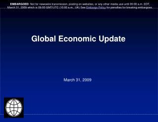 Global Economic Update