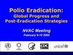 NVAC Meeting  February 9-10 2005