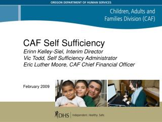 Self Sufficiency programs:  Helping families and individuals in need