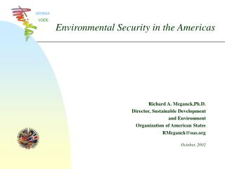 Environmental Security in the Americas