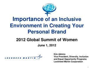 Importance  of an Inclusive Environment in Creating Your Personal Brand
