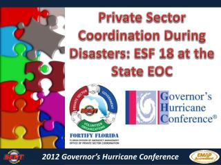 2012 Governor's Hurricane Conference