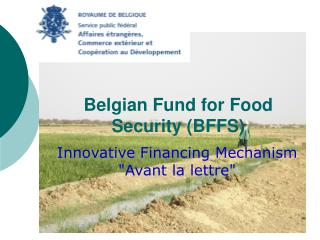 Belgian Fund for Food Security (BFFS)