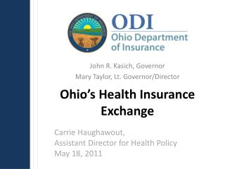 Ohio s Health Insurance Exchange