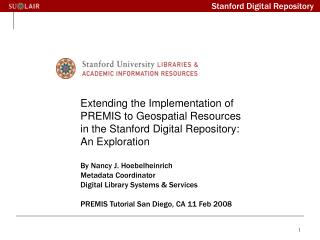 Stanford Digital Repository