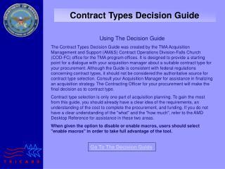Decision Tool P