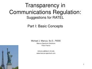 Transparency in Communications Regulation: Suggestions for RATEL Part I: Basic Concepts