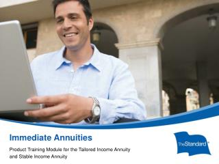 Immediate Annuities