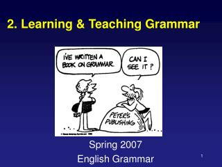 2. Learning & Teaching Grammar
