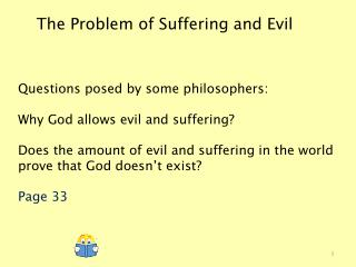 The Problem of Suffering and Evil