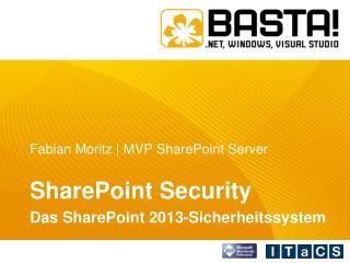 Fabian Moritz | MVP SharePoint Server