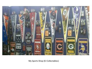 My Sports Shop (EJ Collectables)