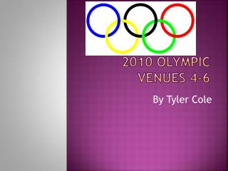 2010 Olympic venues 4-6