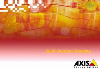 290A Outdoor Housing