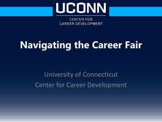 University of Connecticut Center for Career Development