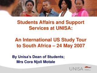 Students Affairs and Support Services at UNISA: