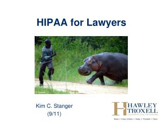 HIPAA for Lawyers