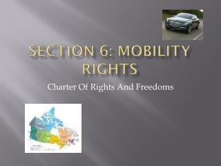 Section 6: Mobility Rights
