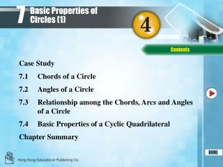 Basic Properties of Circles (1)