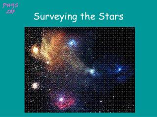 Surveying the Stars