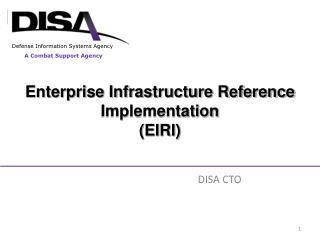 Enterprise Infrastructure Reference Implementation  (EIRI)
