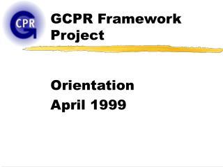 GCPR Framework Project