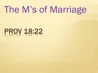 Prov 18:22